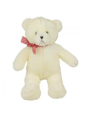 Urso Branco Laço 43cm - Pelúcia