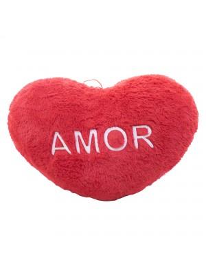 Almofada Coração Amor 53X36CM (Fibra)