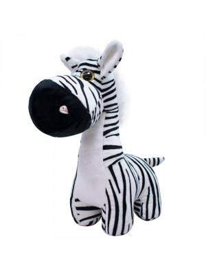 Zebra Focinho Comprido 34cm - Pelúcia