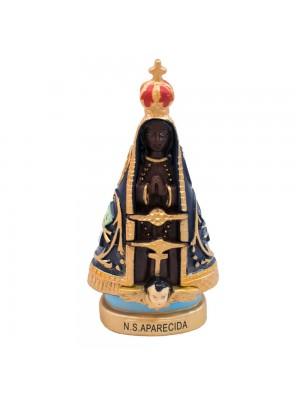 Nossa Senhora Aparecida 9cm - Enfeite Resina
