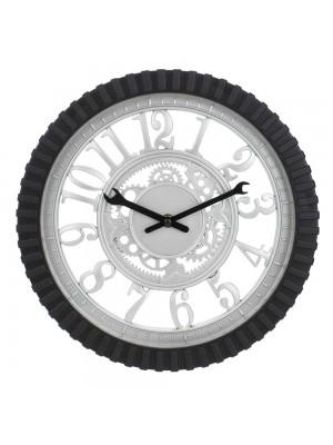 Relógio Parede Engrenagem 30x30cm