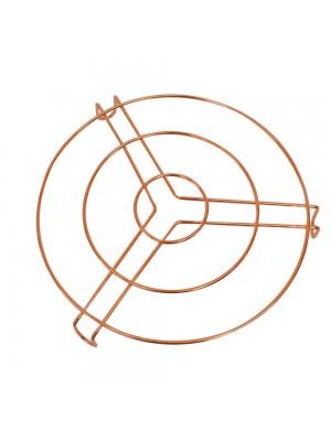 Suporte Descanso Panela Bronze 23.5x23.5cm