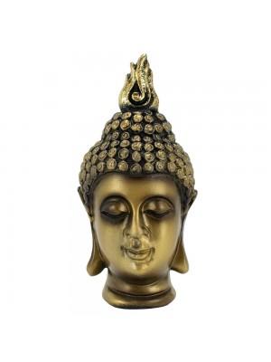 Busto Buda Dourado 10cm