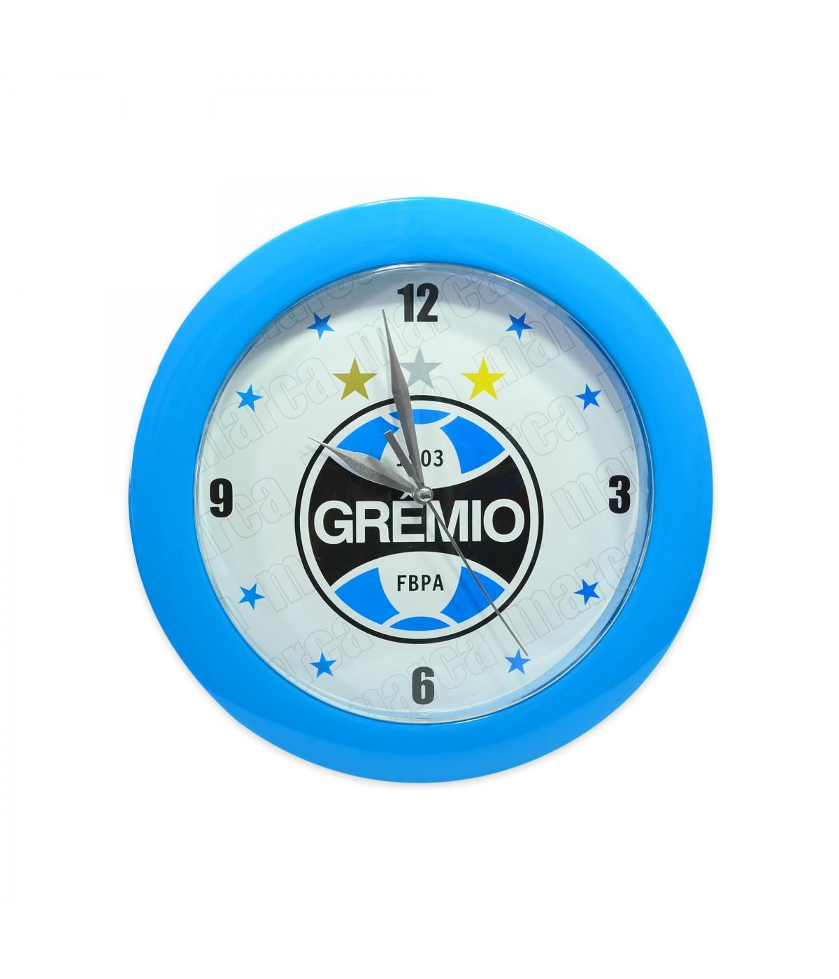 058d82aff70 RELÓGIO DE PAREDE - GRÊMIO ...