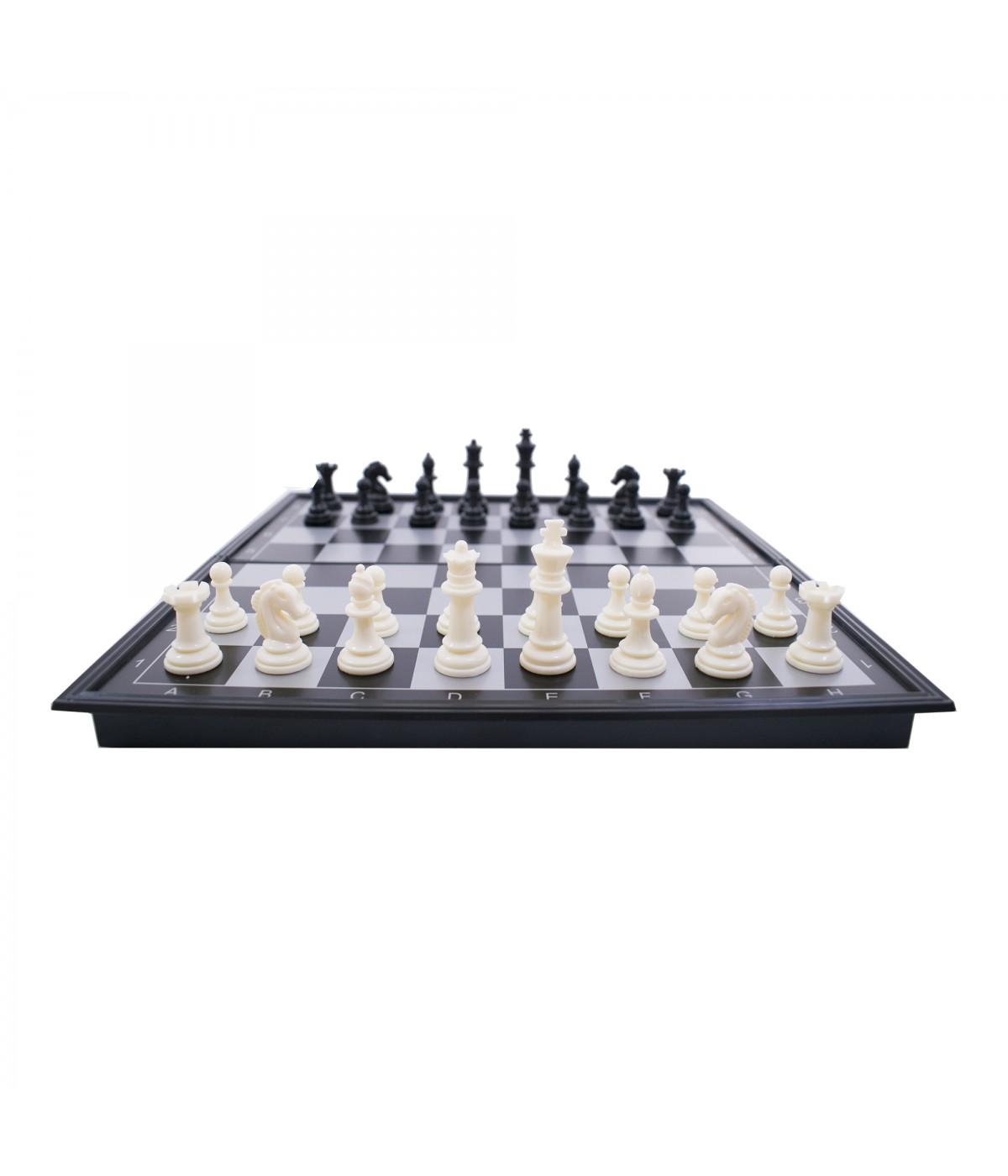 Jogo de Xadrez com tabuleiro dobrável a ímã 27X27CM