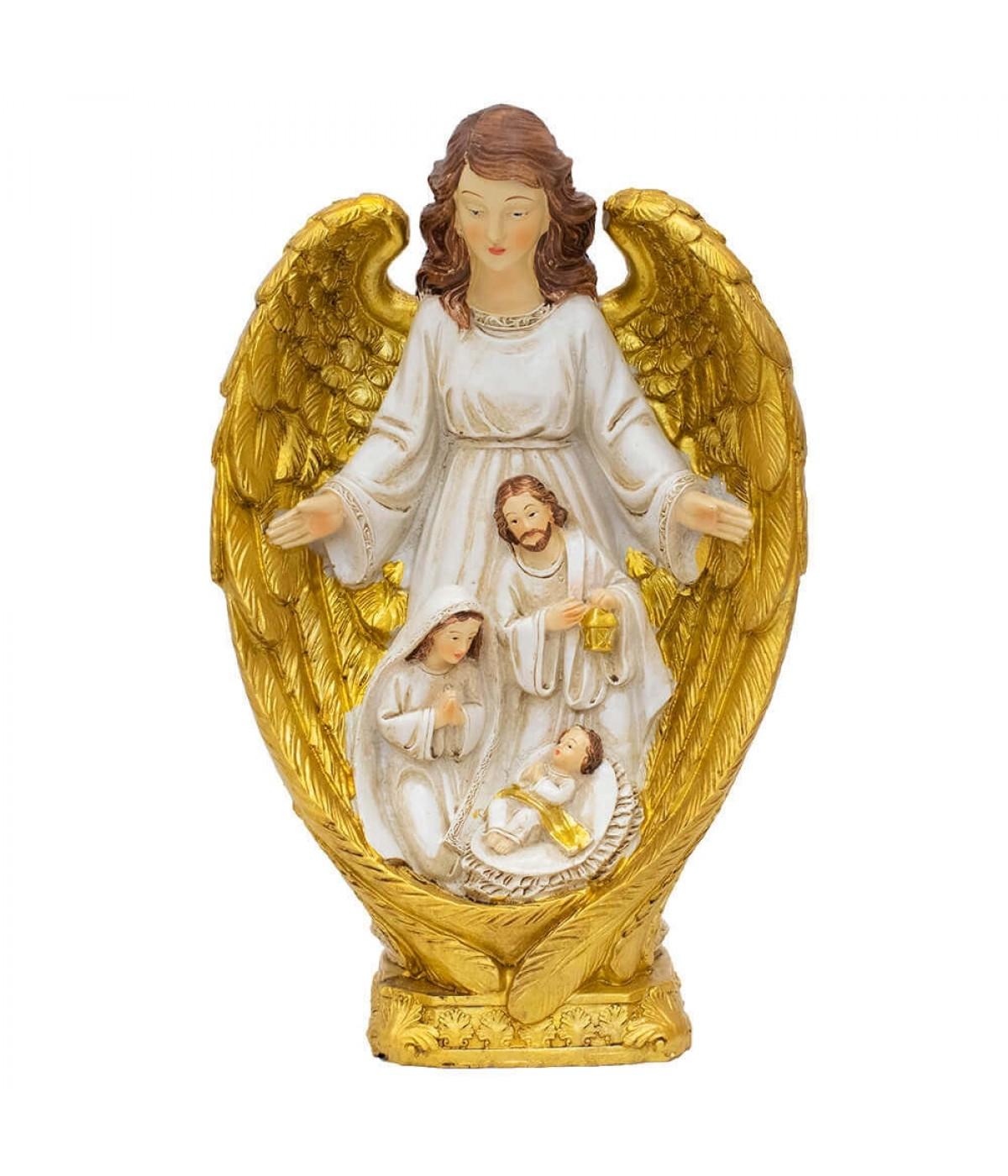 Presépio Sagrada Família 23cm - Enfeite Resina