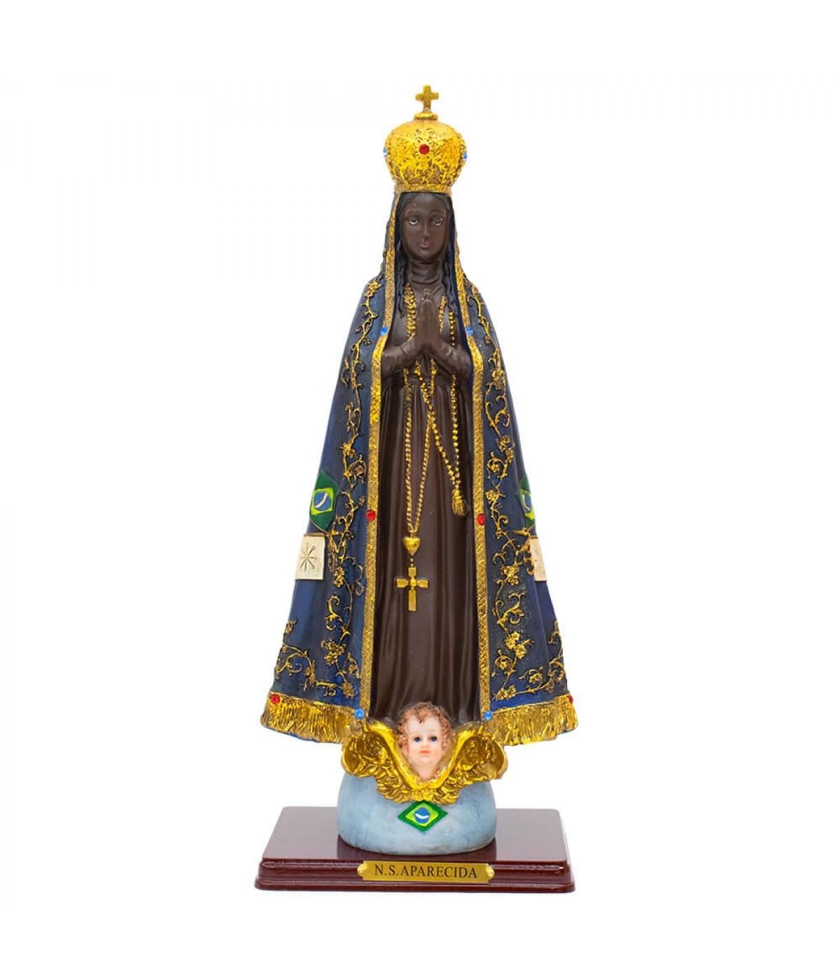 Nossa Senhora Aparecida 47.5cm - Enfeite Resina