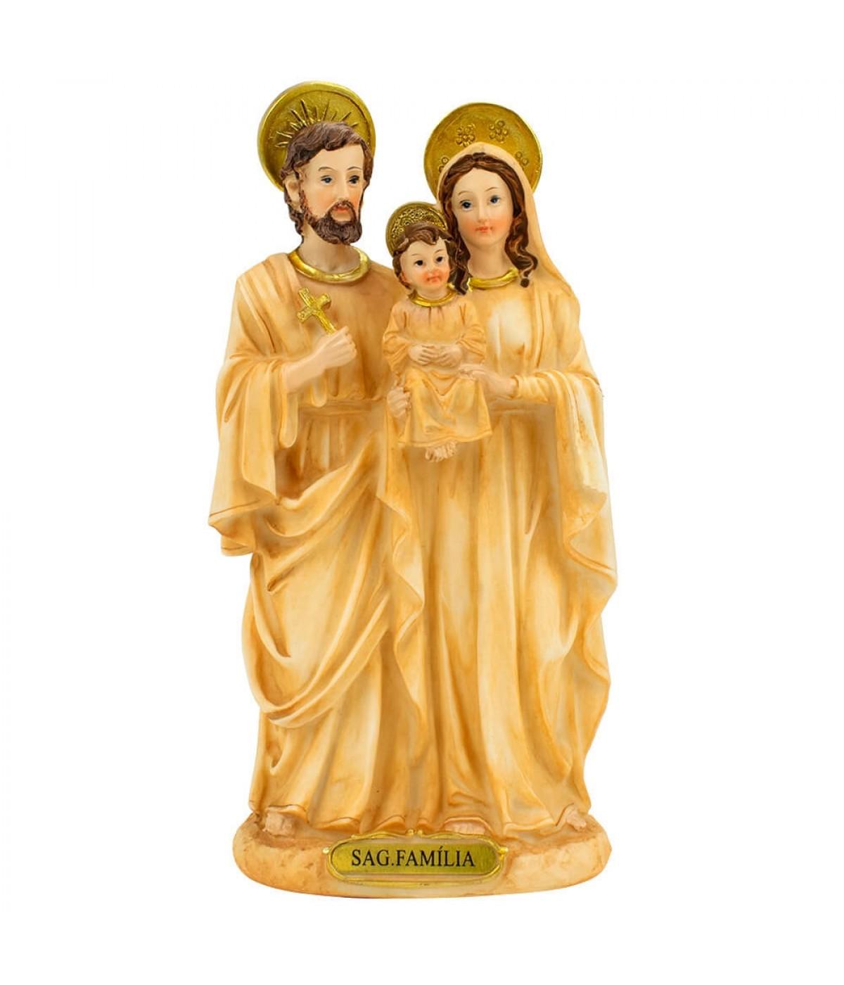 Sagrada Família 20cm - Enfeite Resina