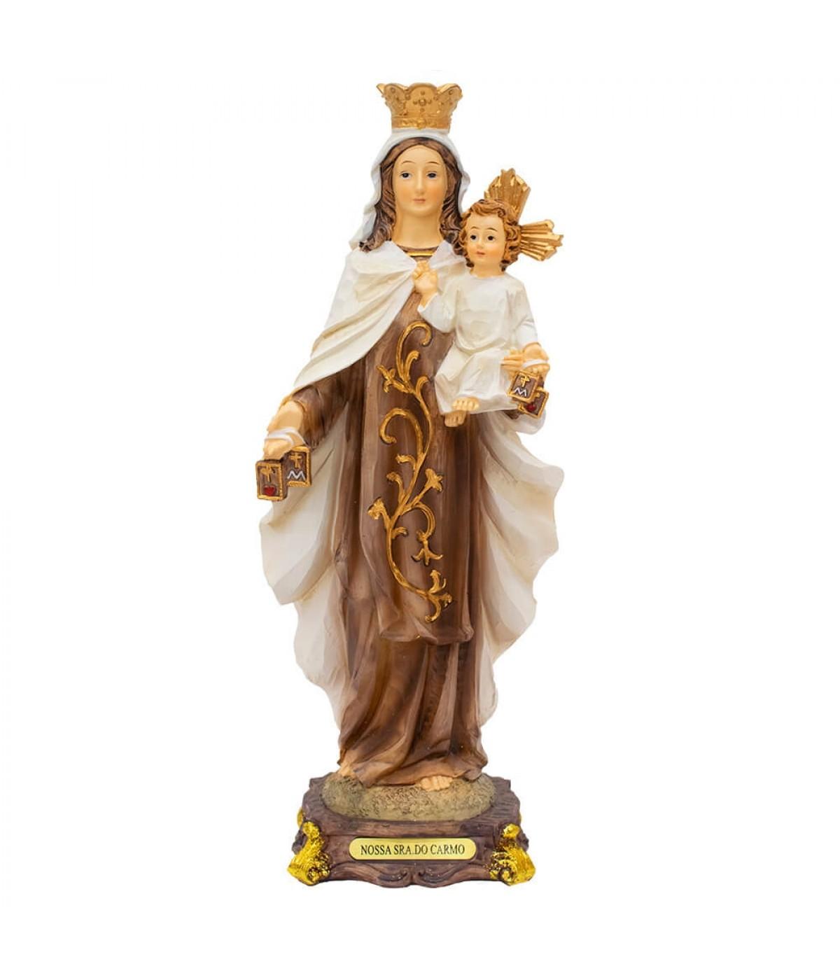 Nossa Senhora Do Carmo 31cm - Enfeite Resina