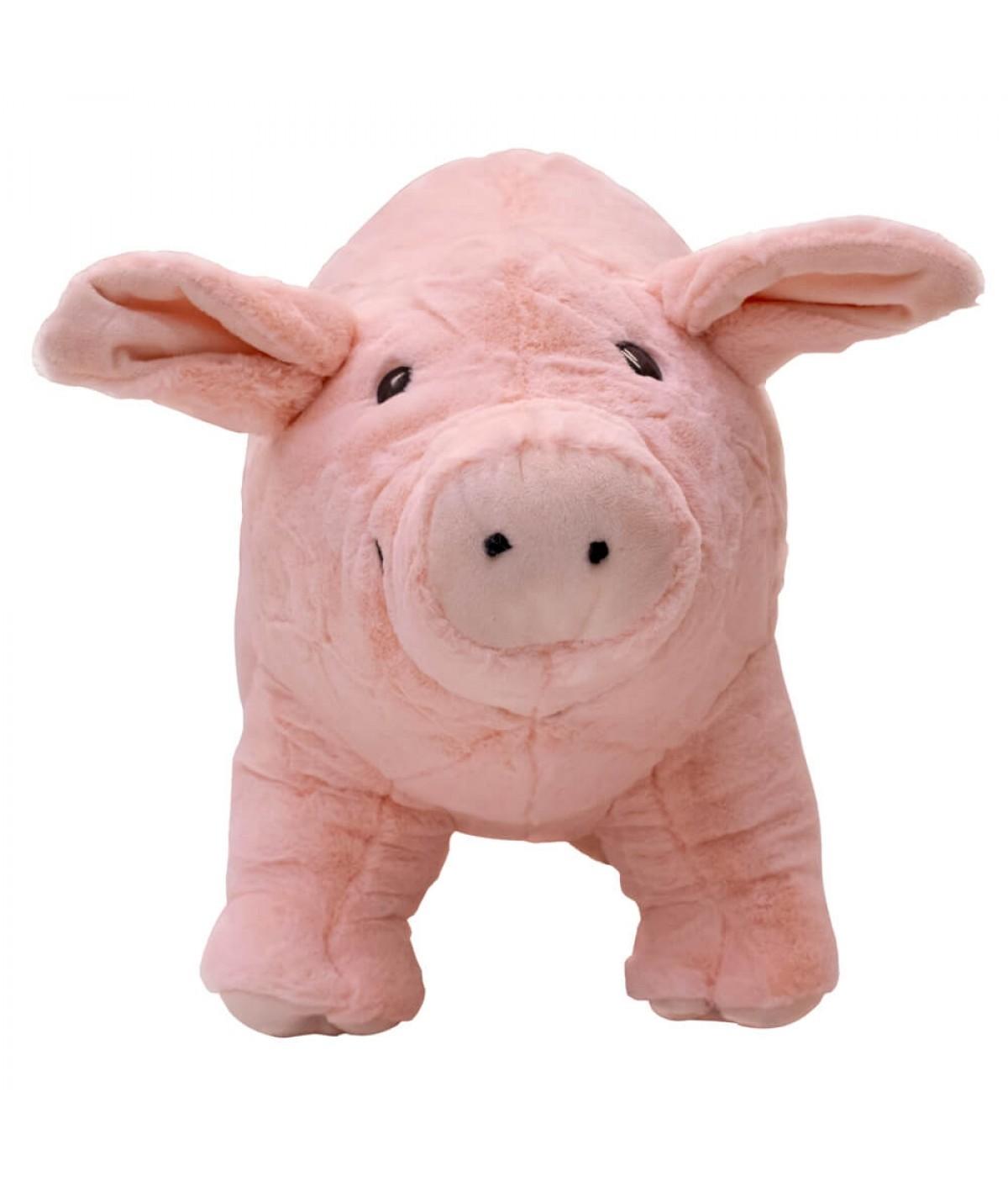 Porco Rosa Levantado 33cm - Pelúcia