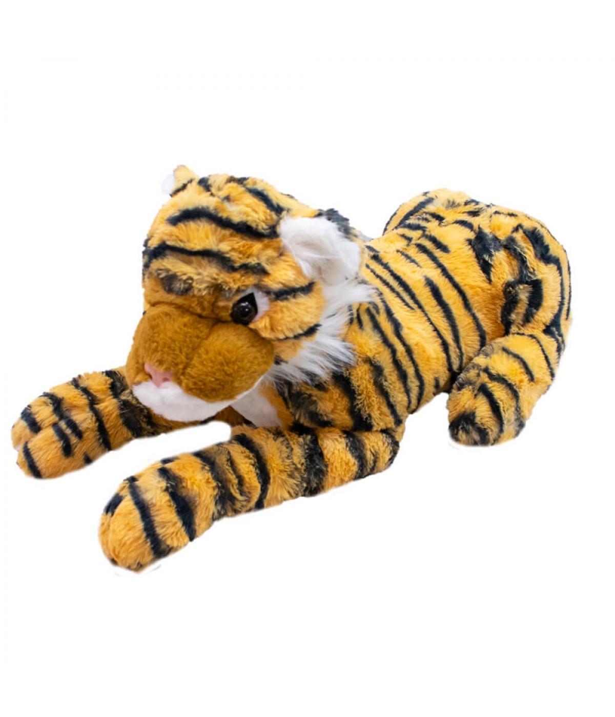 Tigre Deitado 53cm - Pelúcia