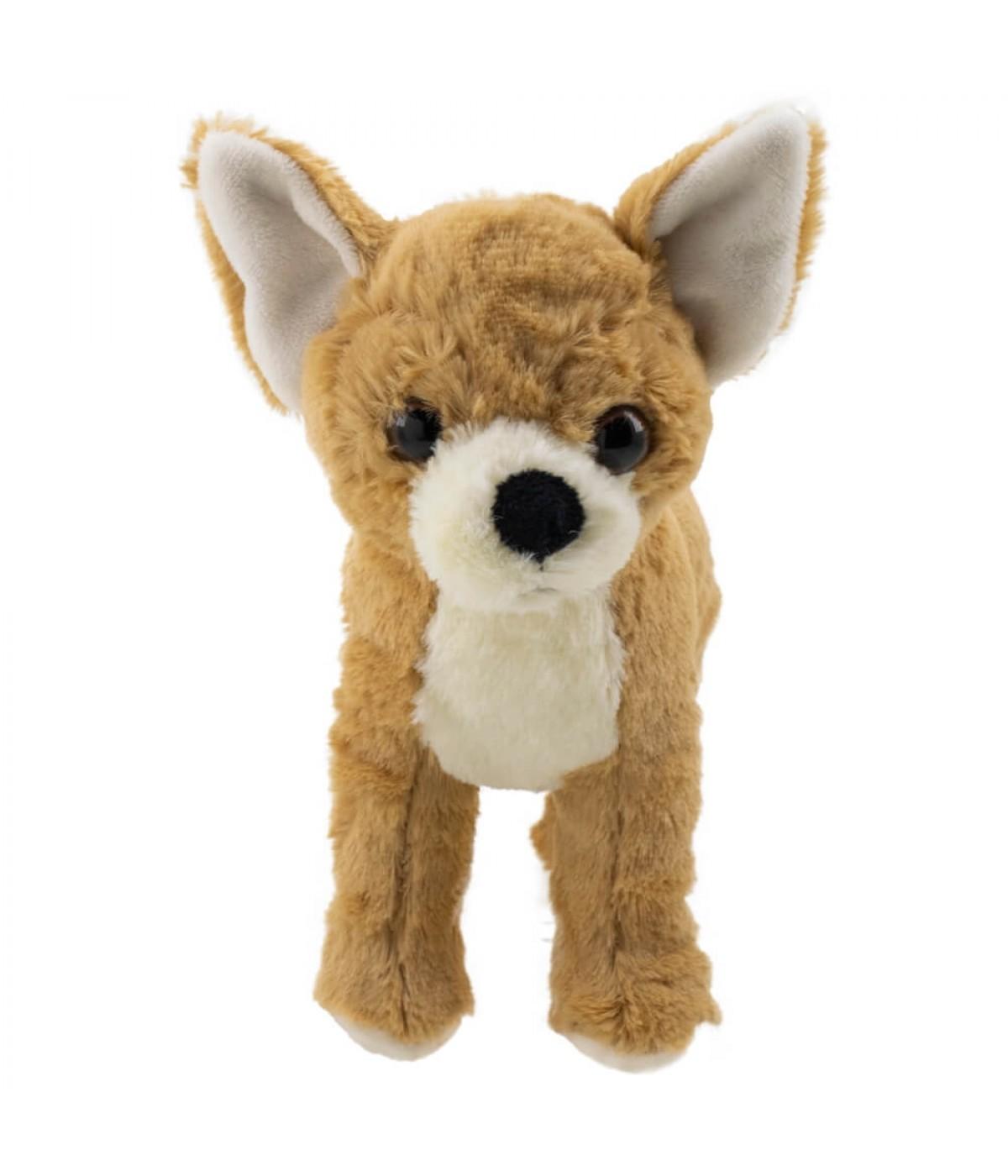 Cachorro Chihuahua Marrom 20cm - Pelúcia