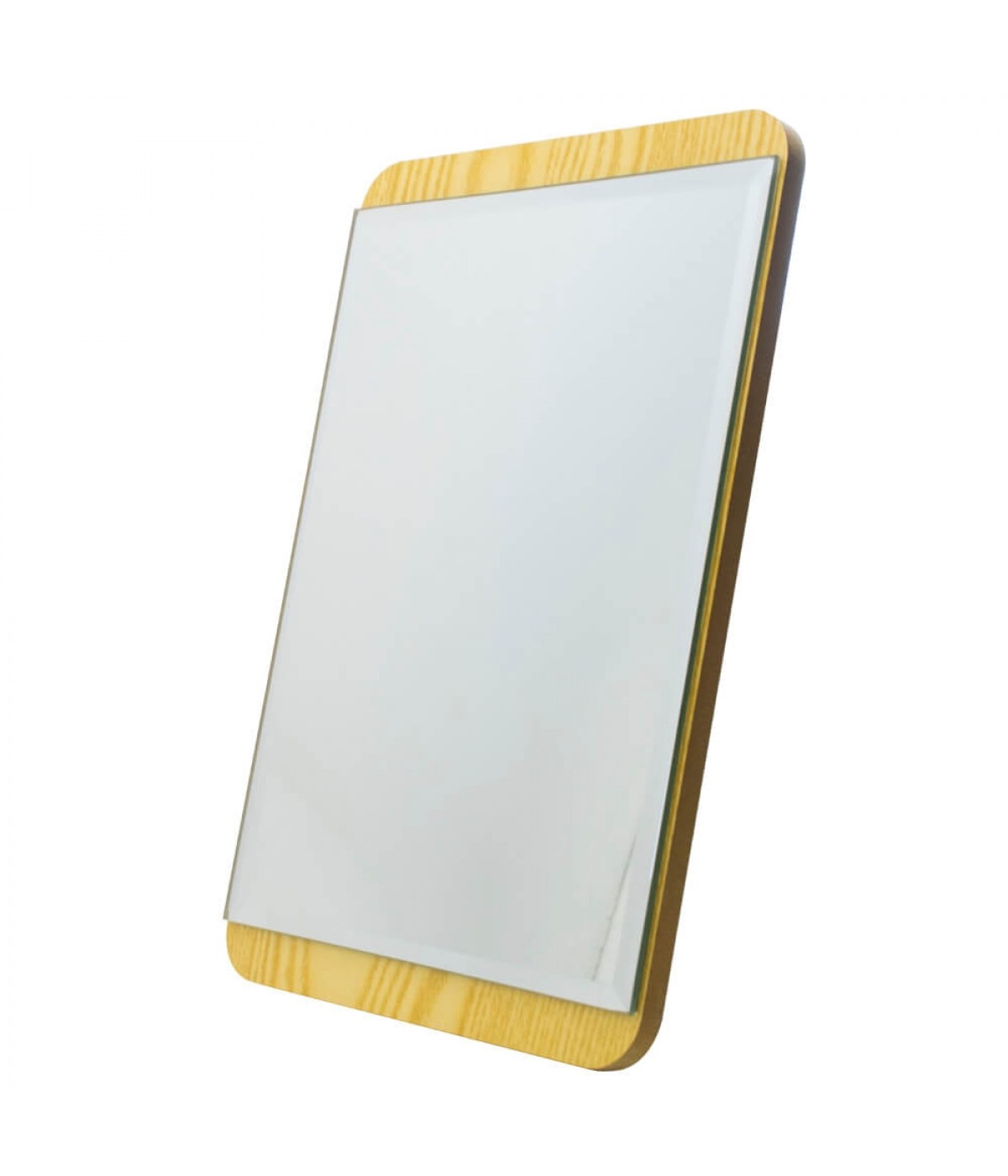 Espelho Retangular Madeira 25cm