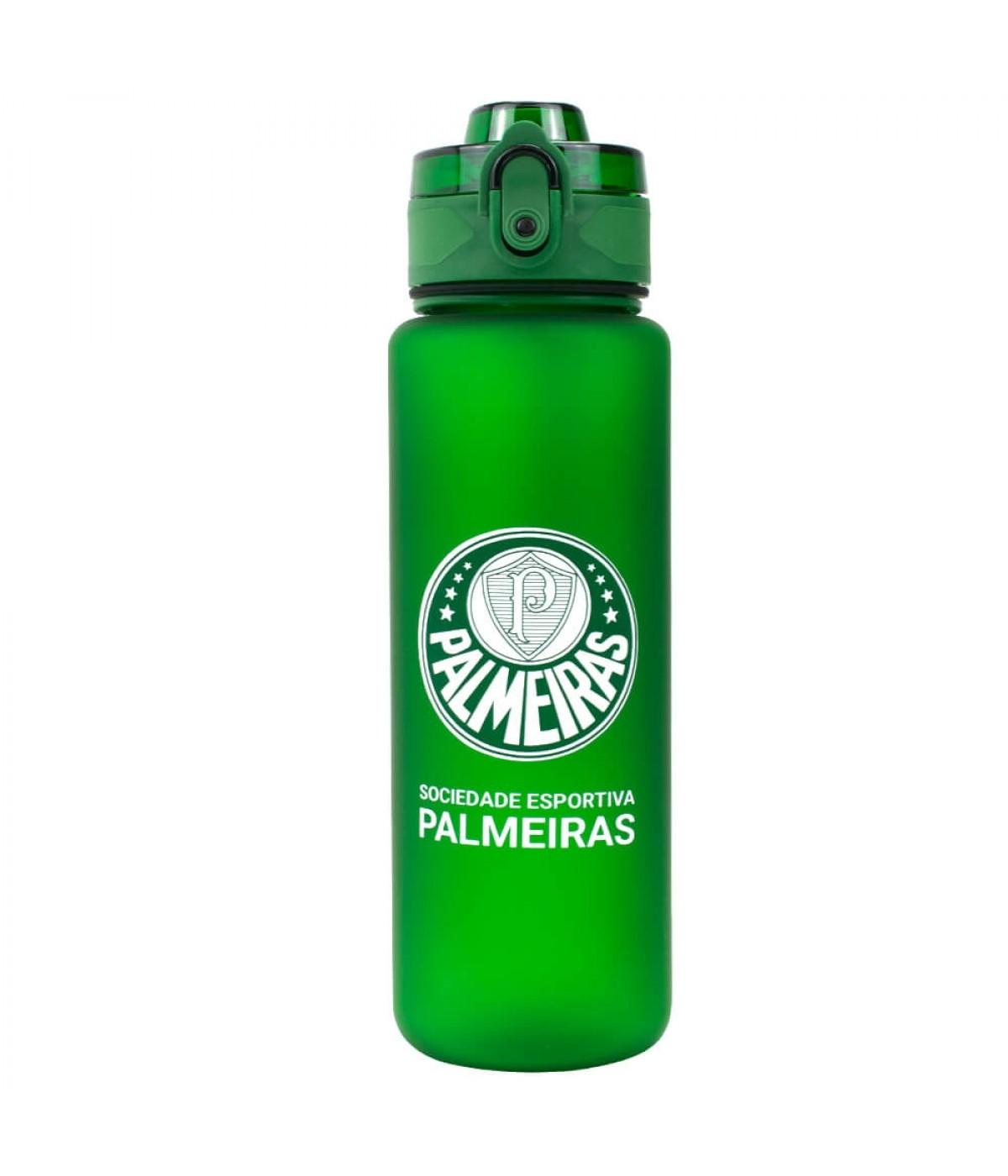 Garrafa De Plástico 600ml - Palmeiras