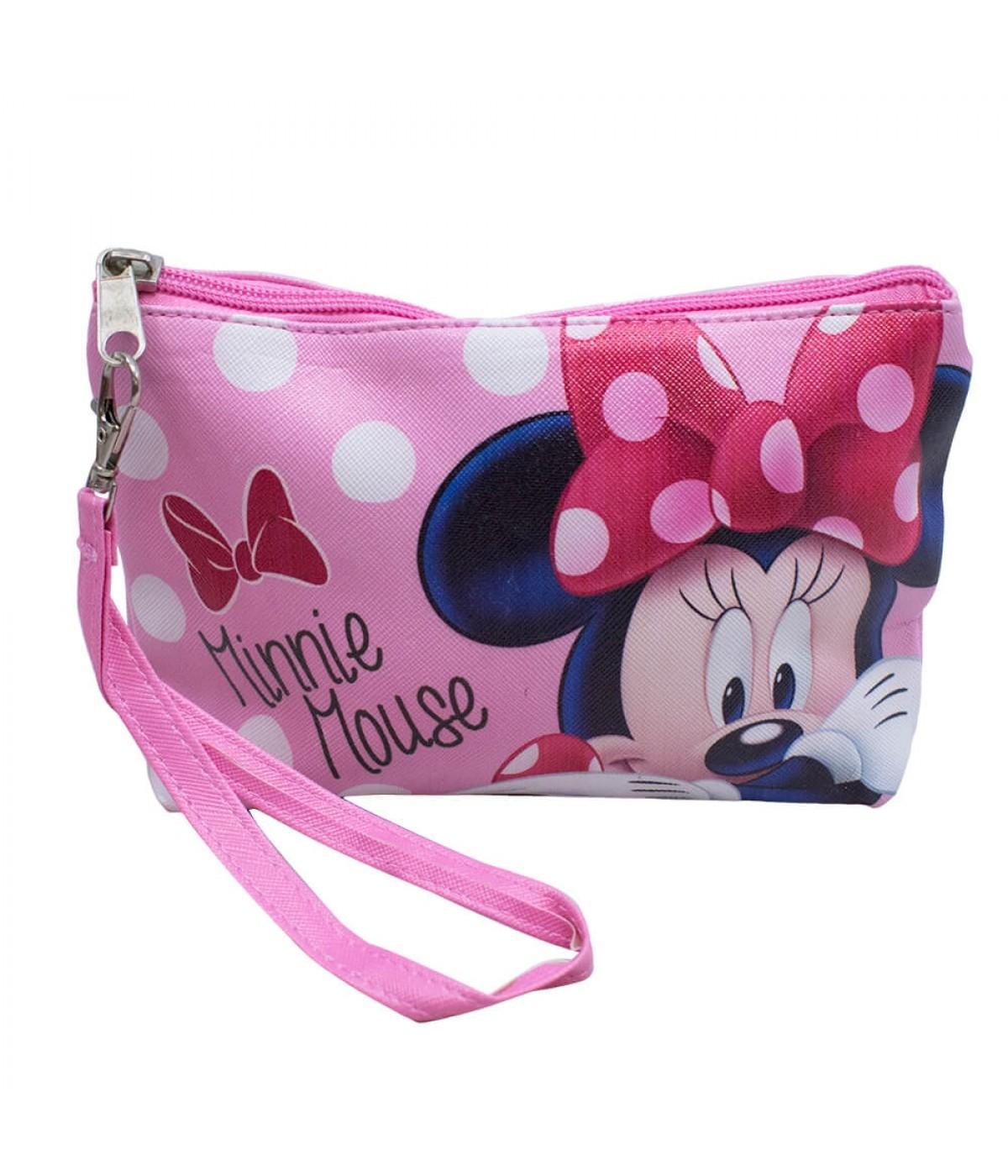 Necessaire Rosa Minnie 14x3x19cm - Disney
