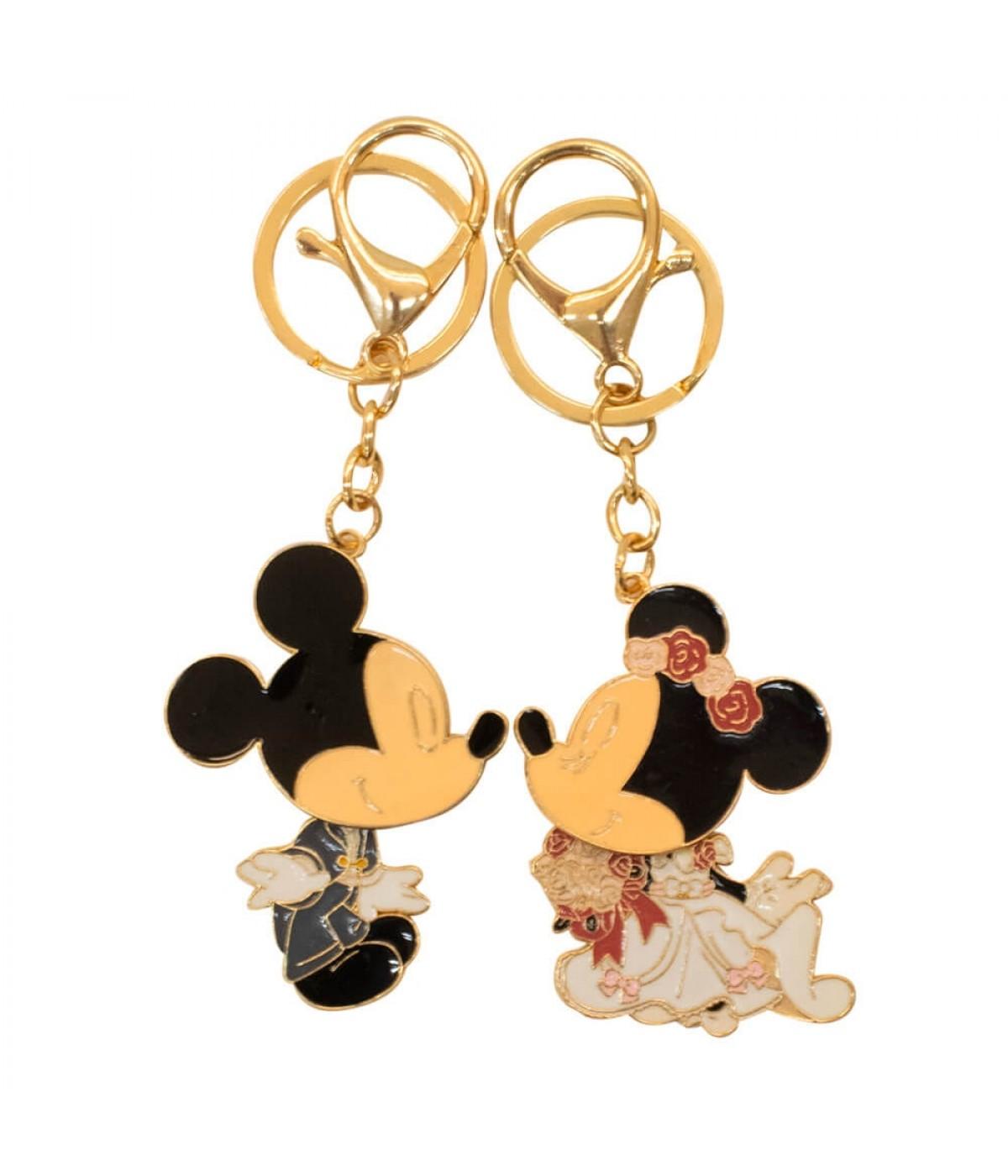 Jg Chaveiros Noivos Mickey Minnie 5.5cm - Disney