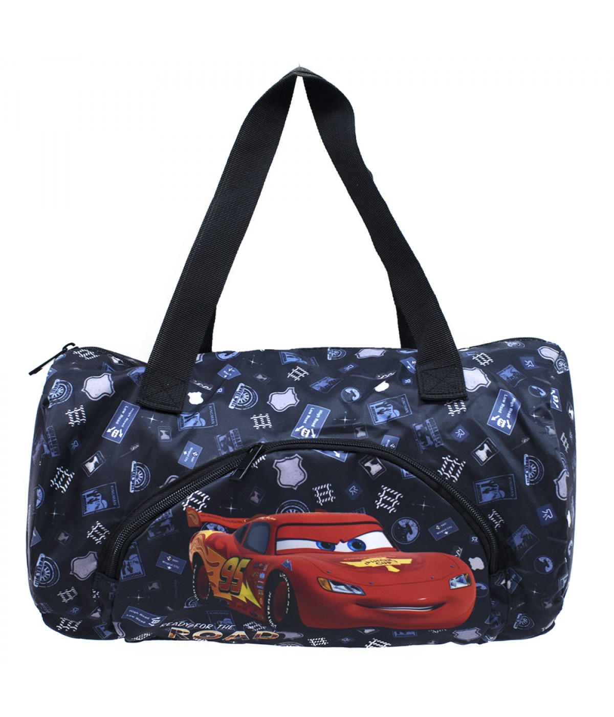 Bolsa Cilindro Carros 21x35cm - Disney