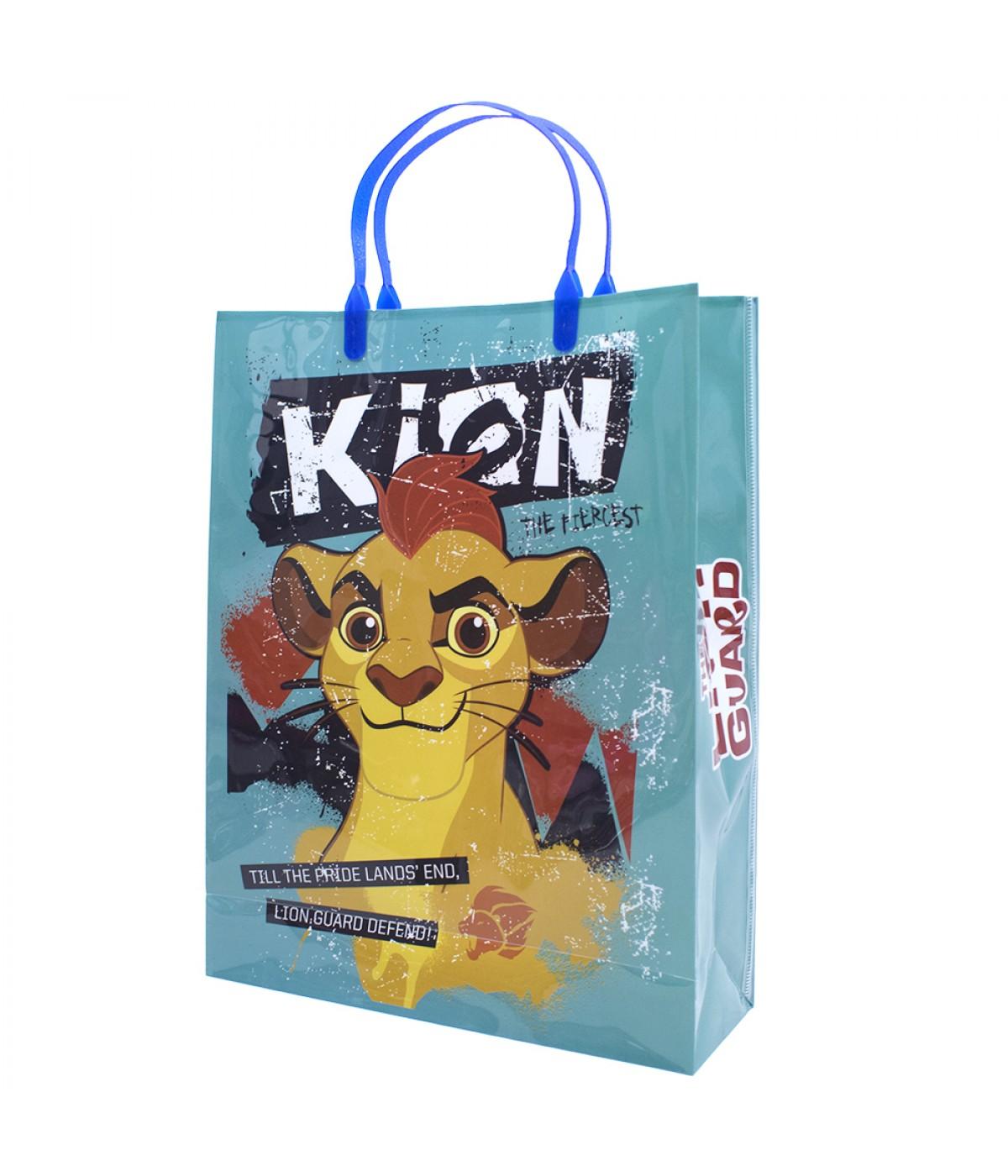 Sacola de Presentes Kion Guarda Do Leão 33x26x8.5cm - Disney