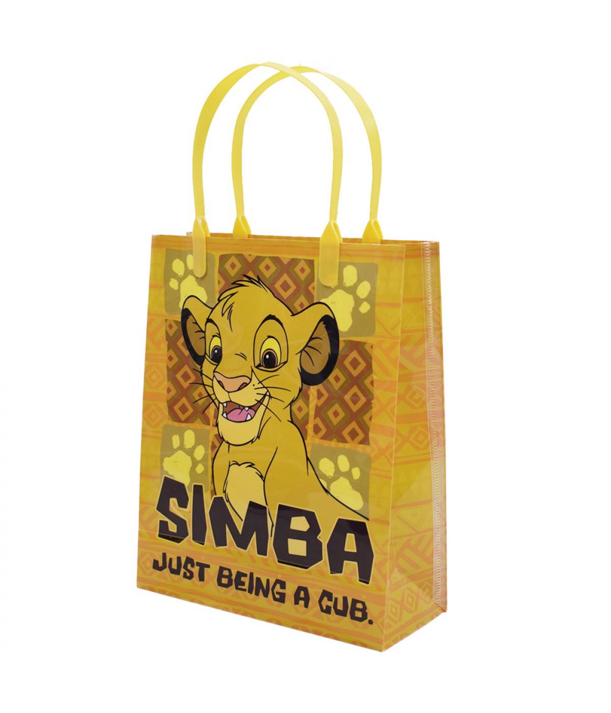 Sacola de Presentes Simba Rei Leão 22x18x7.5cm - Disney
