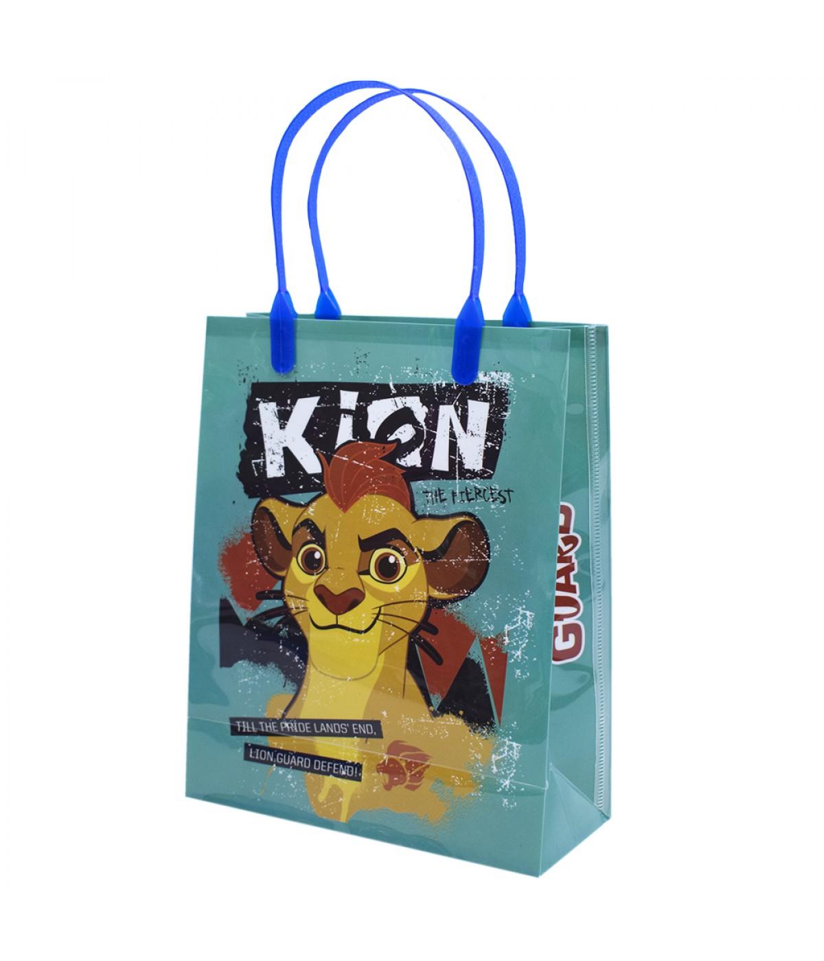 Sacola de Presentes Kion Guarda Do Leão 22x18x7.5cm - Disney