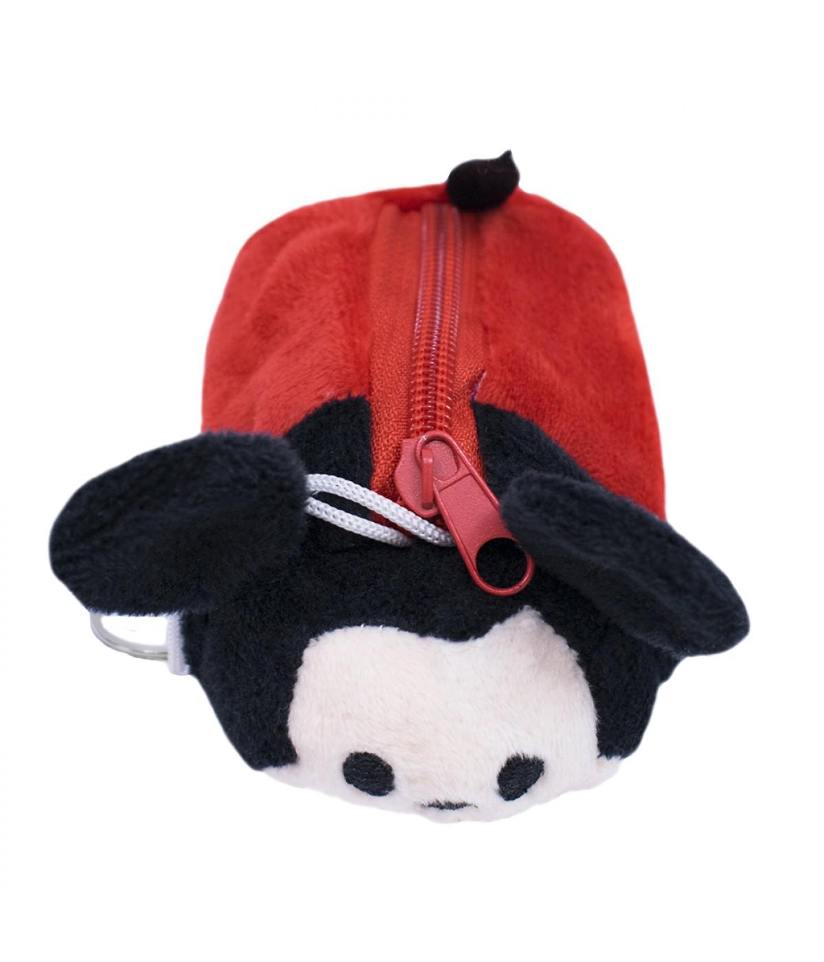 Porta moeda pelúcia formato Mickey Tsum Tsum - Disney