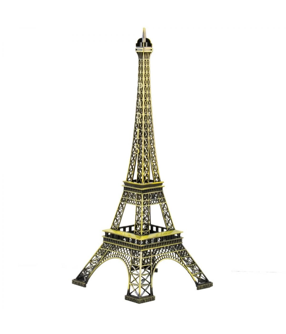 Torre Eiffel Dourado Escuro 32cm