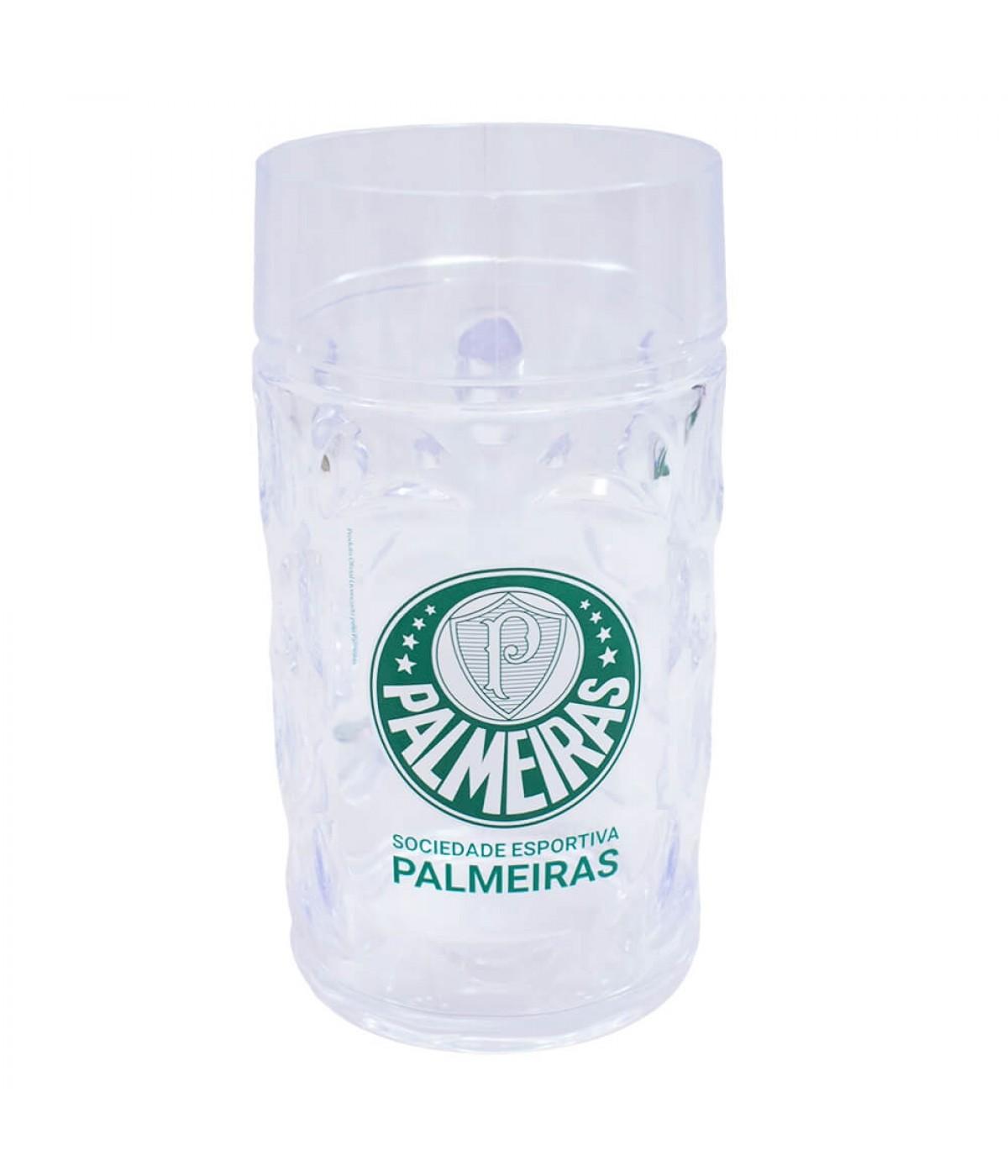 Caneca Plástico Gigante 900ml - Palmeiras ... 17cba575d58de