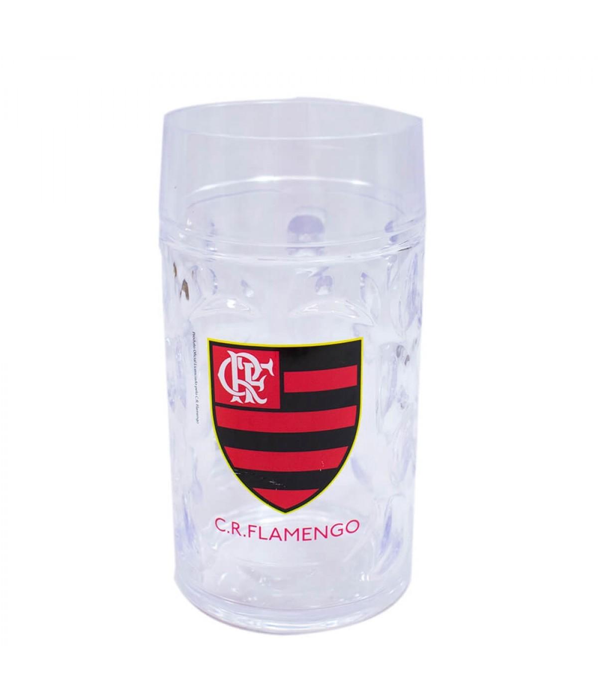 Caneca Plástico Gigante 900ml - Flamengo