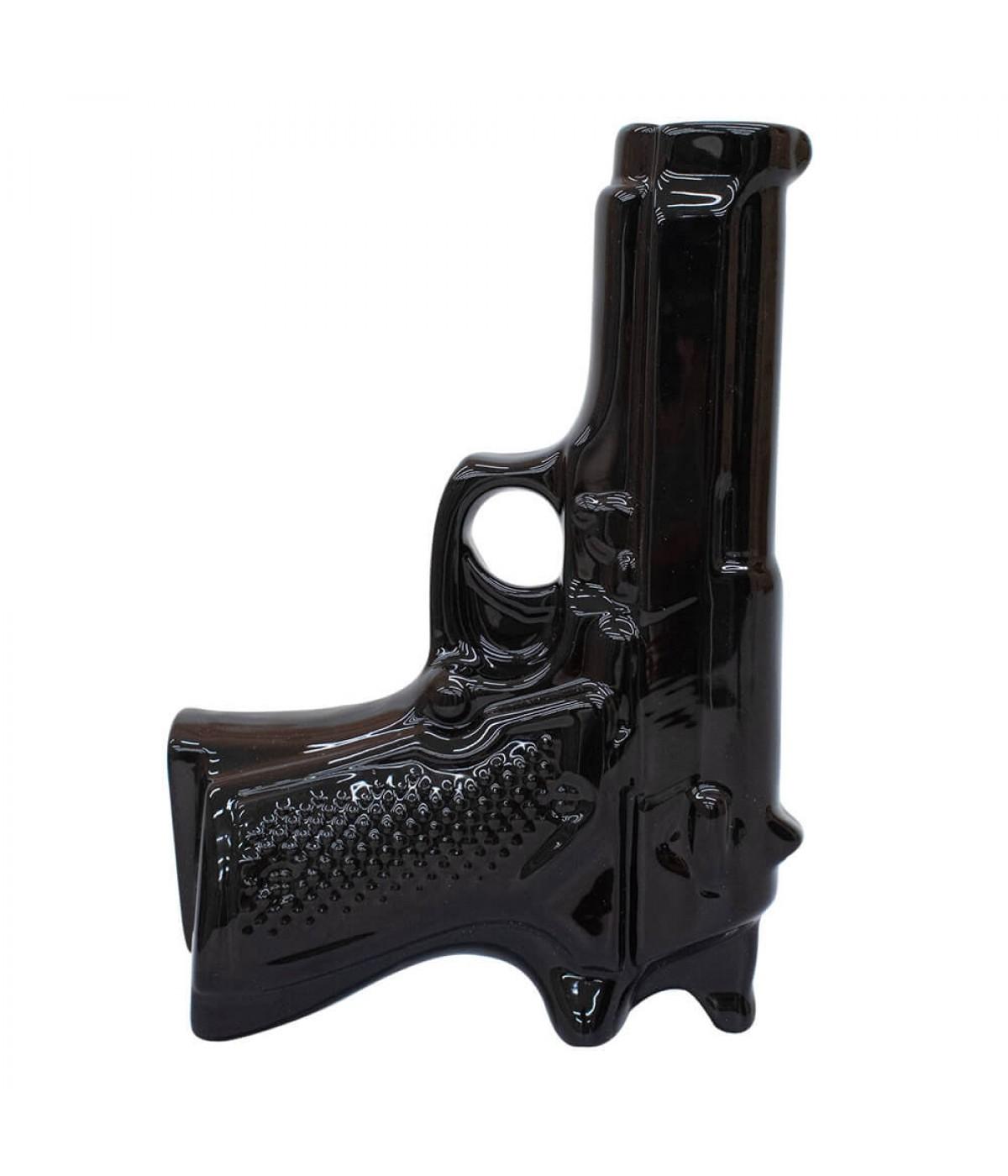 Vaso Preto Pistola 20.5cm