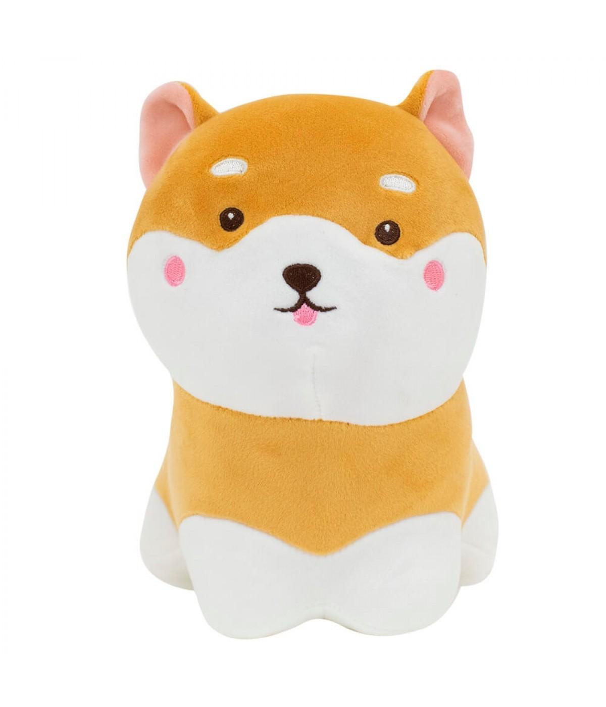 Cachorro Shiba Sentado 20cm - Pelúcia