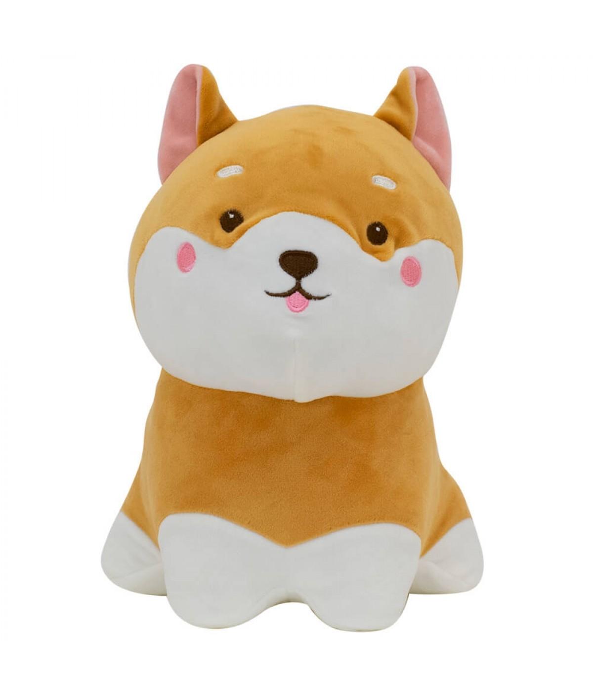 Cachorro Shiba Sentado 26cm - Pelúcia
