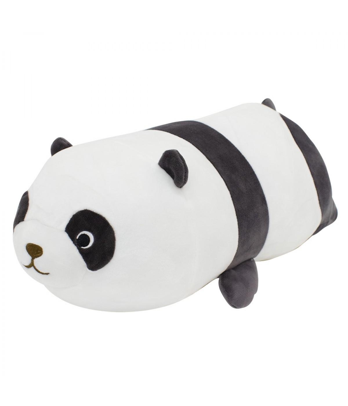 Almofada Formato Panda Pelúcia 42cm