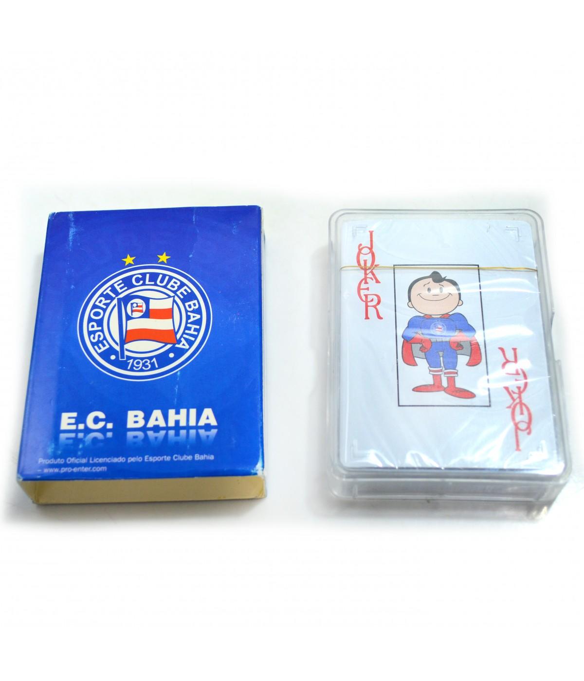 BARALHO PLASTICO BAHIA PC001B  862345918ca0e