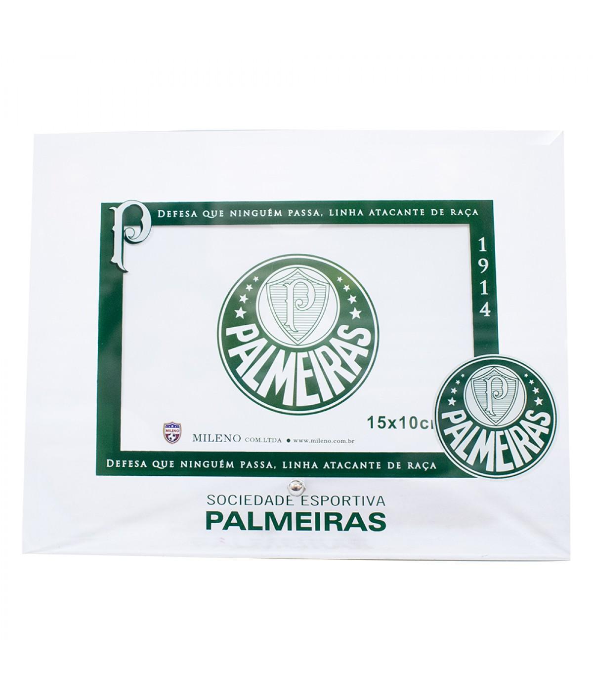 Porta Retrato Vidro 1 foto 10x15cm - Palmeiras