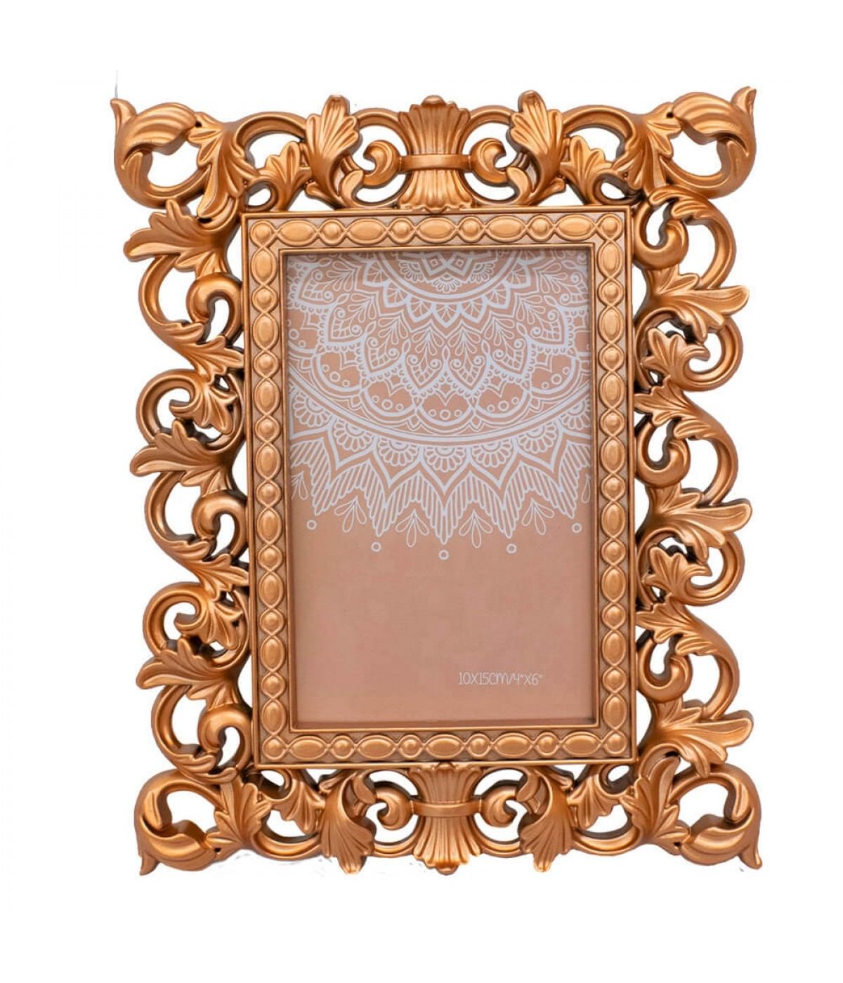 Porta Retrato Bronzeado 1 foto 10x15cm