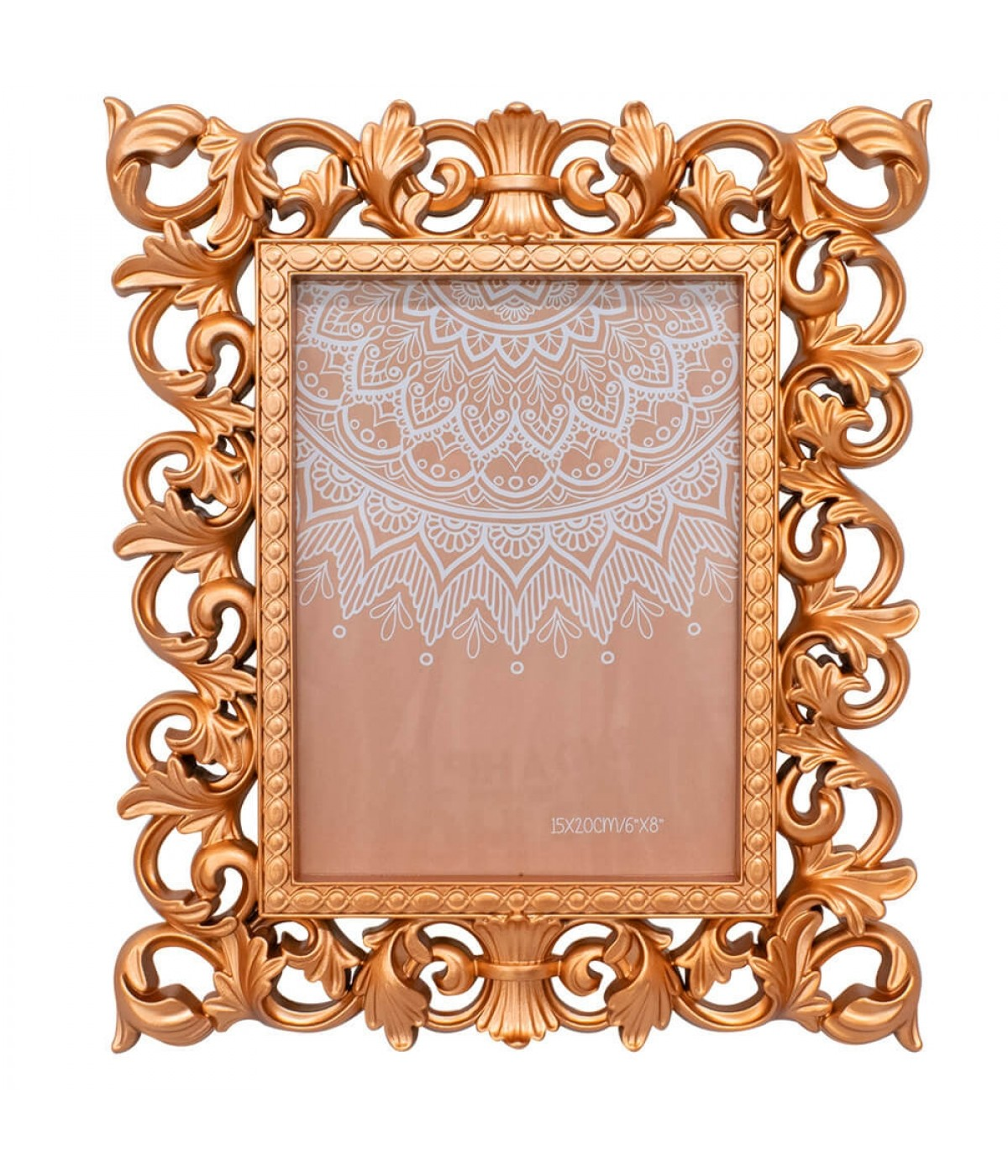 Porta Retrato Bronzeado 1 foto 15x20cm