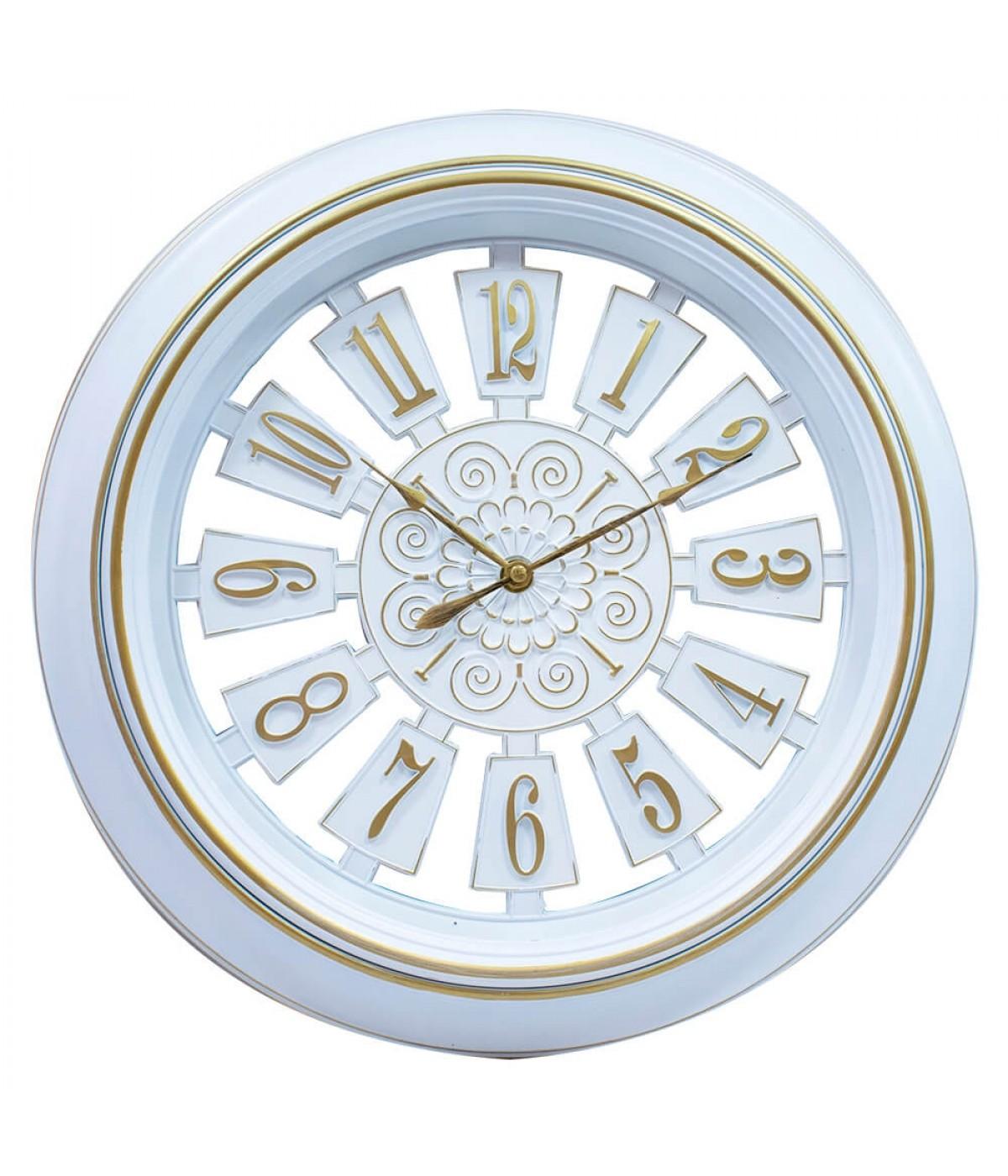 Relógio Parede Branco 40x40cm
