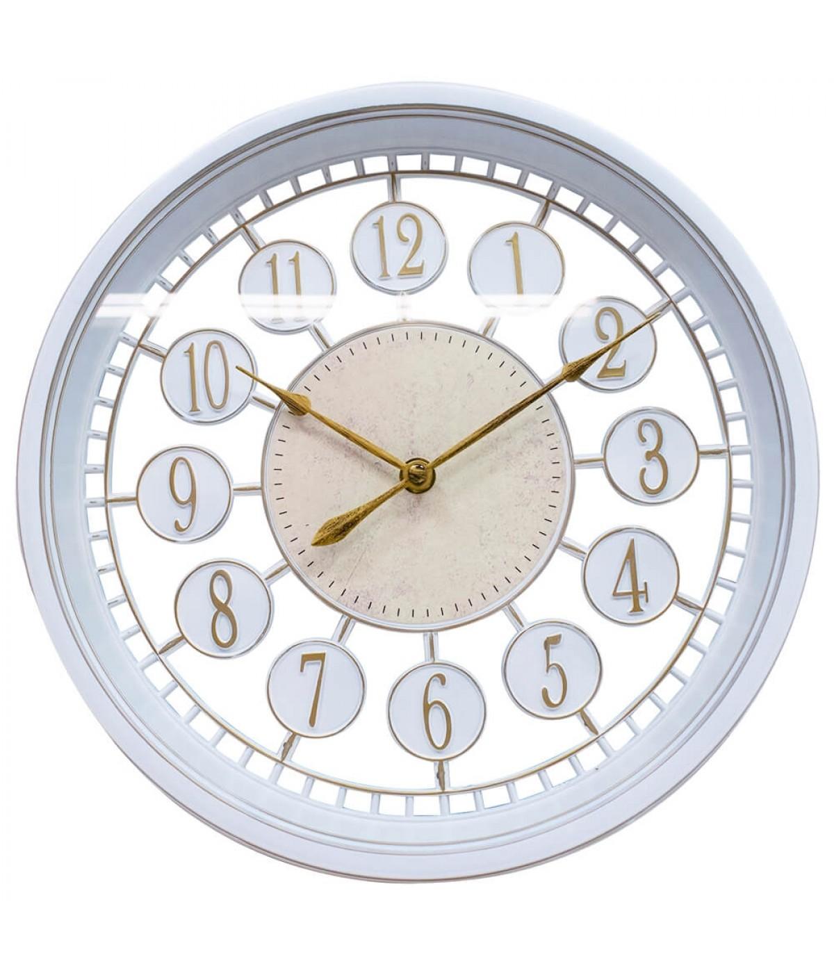 c0128d03d18 Relógio Parede Branco 30x30cm