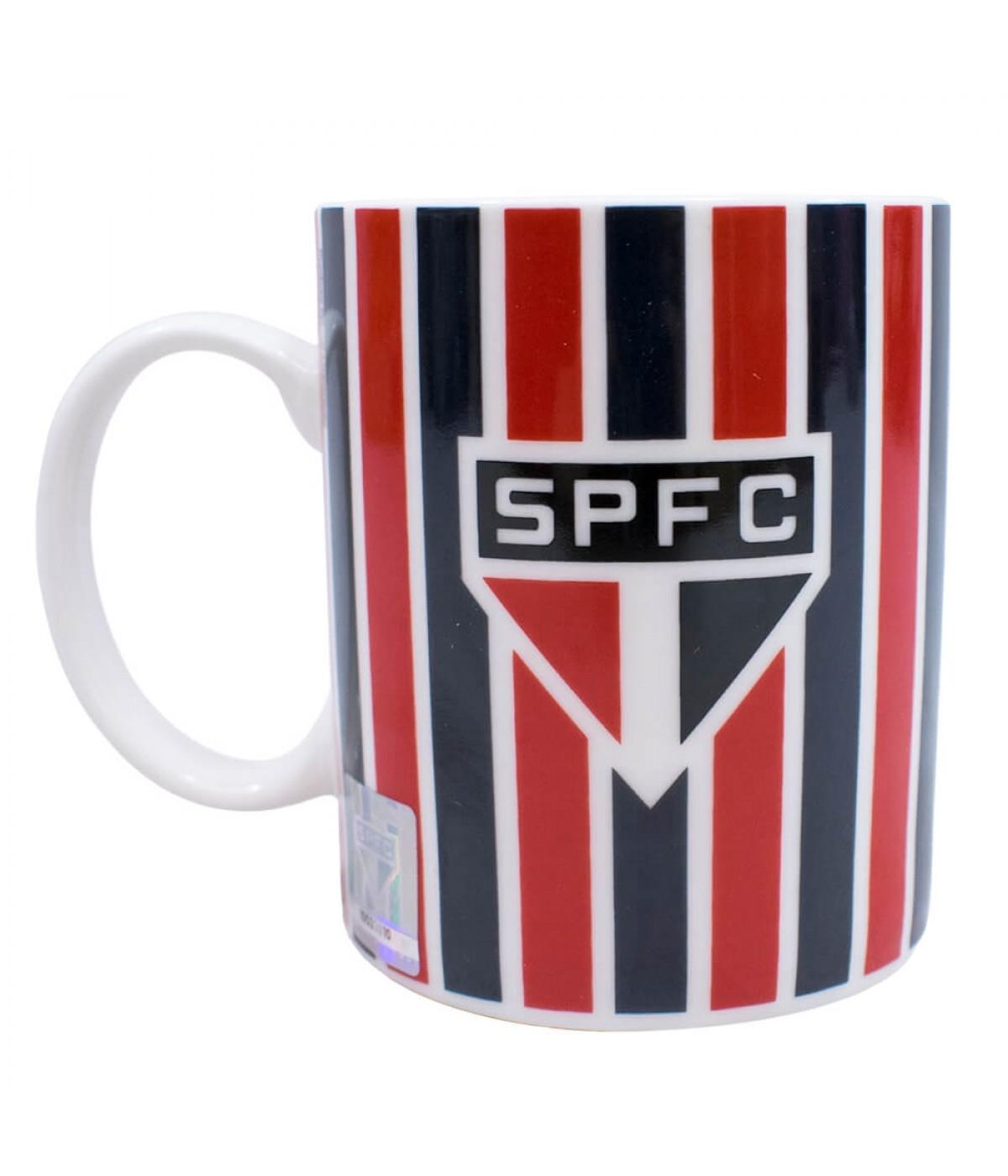 Caneca Porcelana 370ml - SPFC