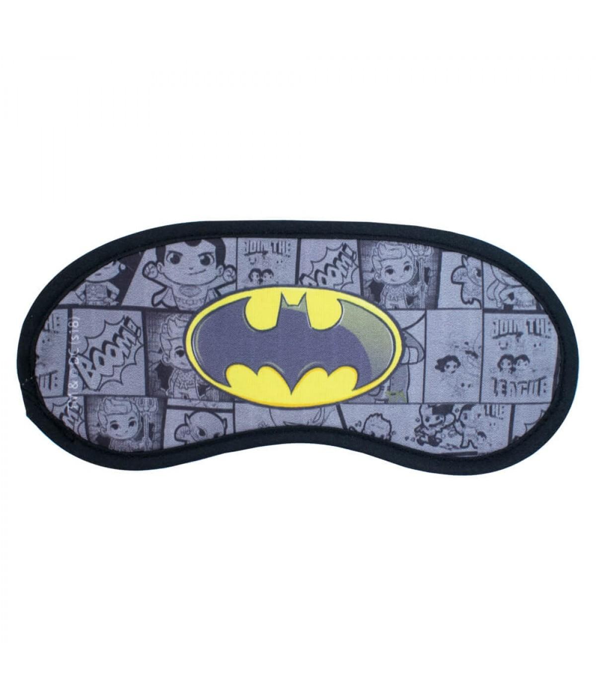 Máscara De Dormir Símbolo Batman - Liga da Justiça