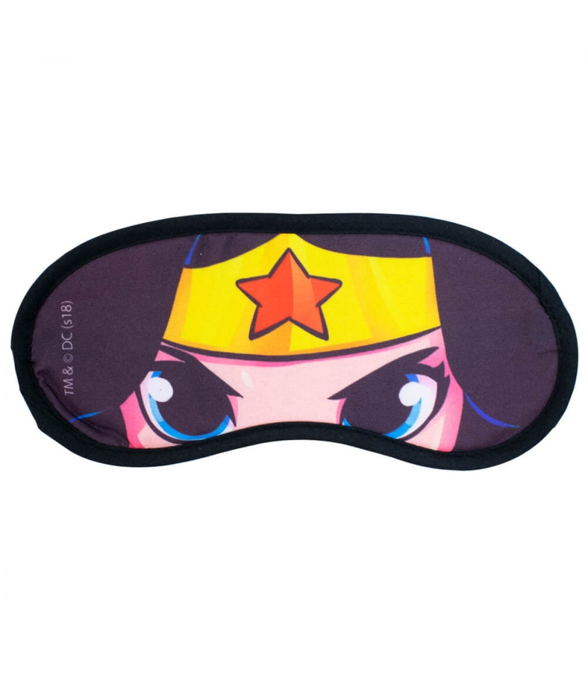 Máscara De Dormir Rosto Mulher Maravilha - Liga da Justiça