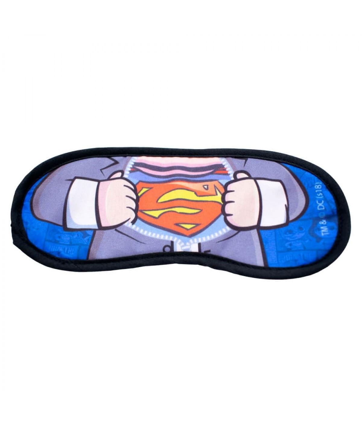Máscara De Dormir Camisa Superhomem - Liga da Justiça