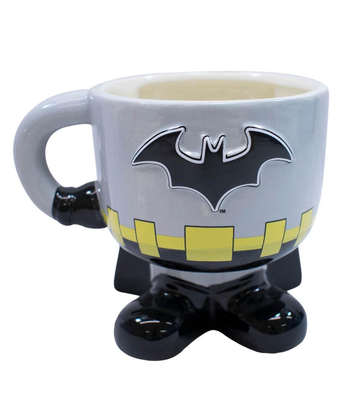 Caneca Porcelana Corpo Batman 450ml - Liga Da Justiça