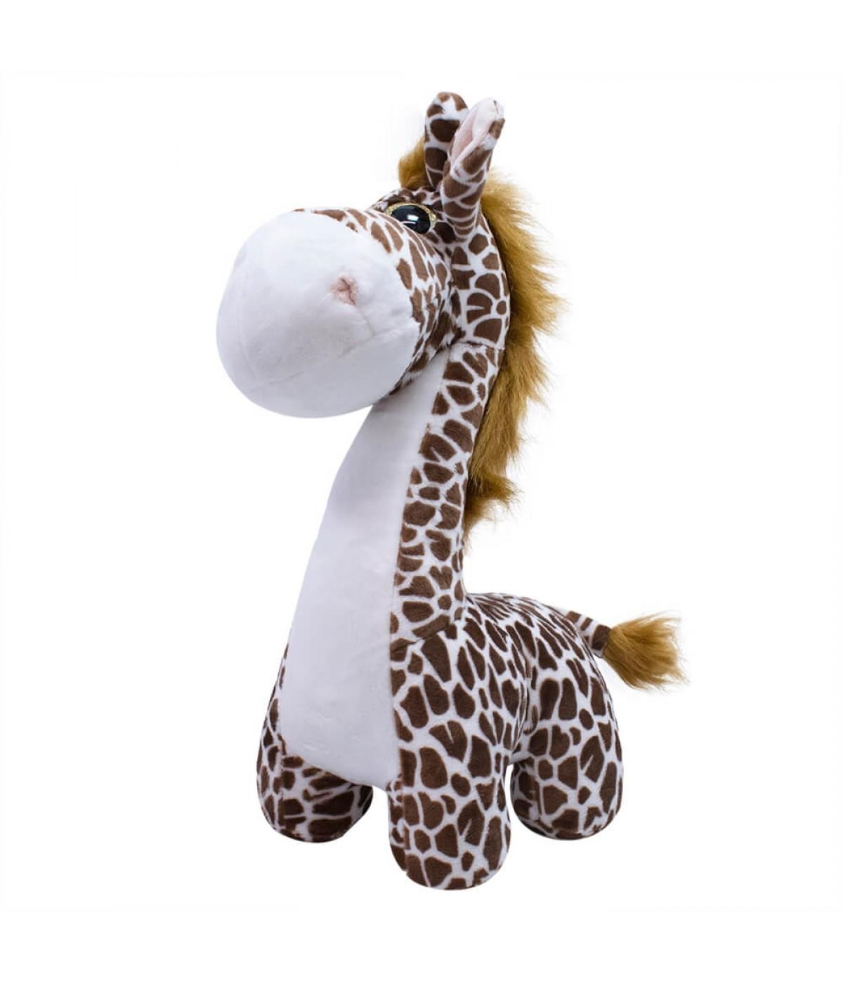Girafa Focinho Comprido 27cm - Pelúcia