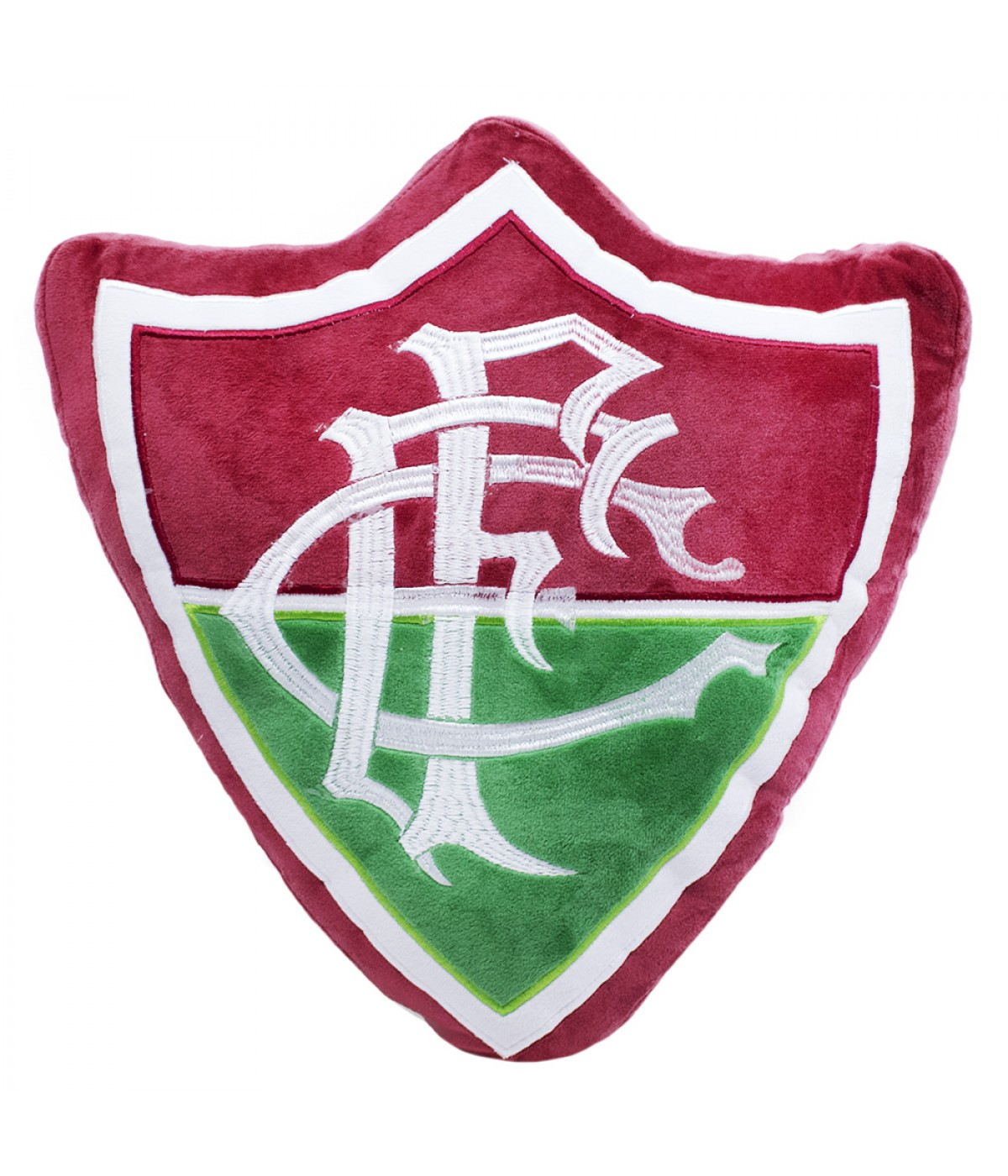 Almofada Brasão (Fibra) - FLUMINENSE
