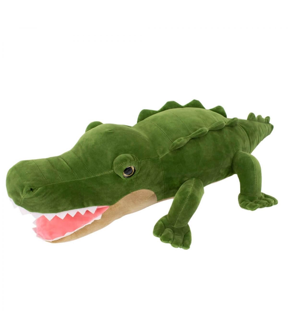 Crocodilo Verde 75cm - Pelúcia