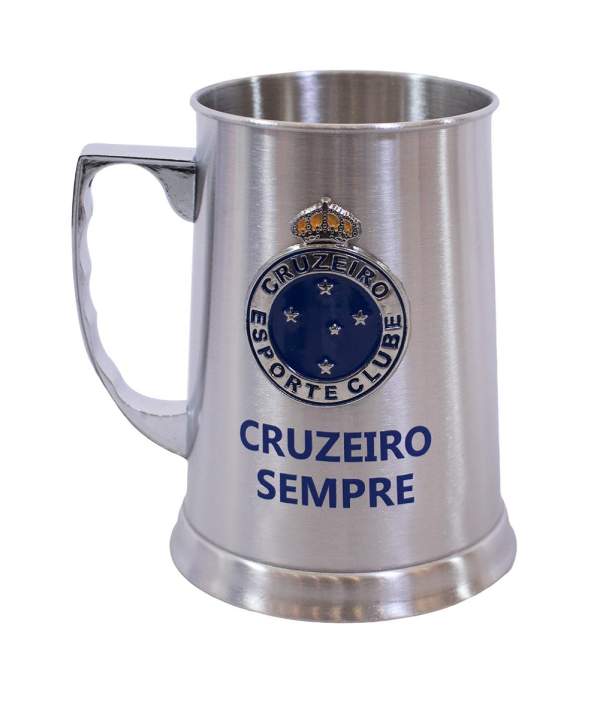 bd2631fe0833b CANECA INOX CHOPP 420ML - CRUZEIRO ...