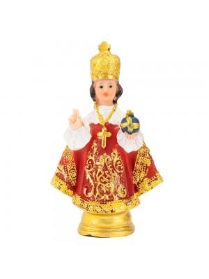 Menino Jesus De Praga 8cm - Enfeite Resina