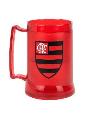 Caneca Gel Isolante Térmico 400ml - Flamengo