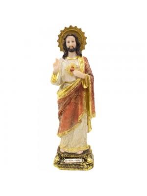 SAGRADO CORAÇÃO DE JESUS 30CM - ENFEITE RESINA
